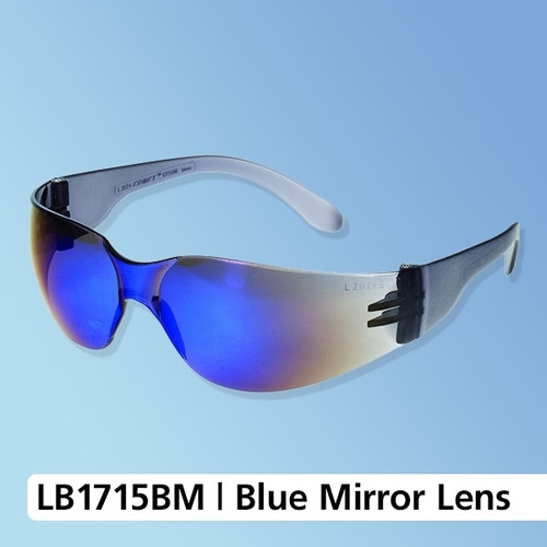 iNOX F-1 Wrap-Around Blue Mirror Lens