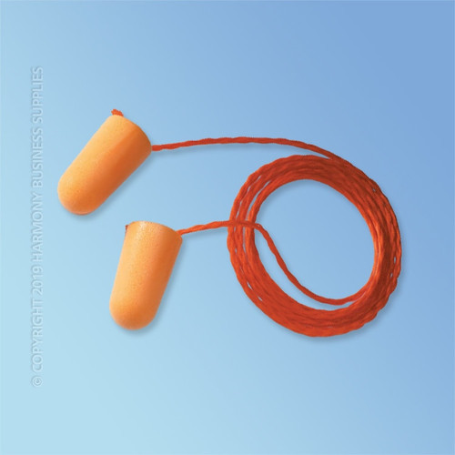 3M Foam Corded Ear Plugs
