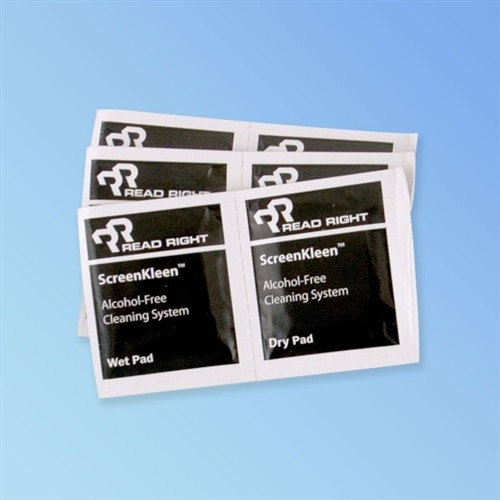 ReadRight RR1391 Alcohol Free LCD Monitor/TV Wipes