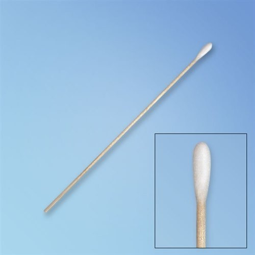"Get Puritan Low Lint Cylindrical Tip Cotton Swab, 6"" Wood Shaft 896-WC at Harmony"