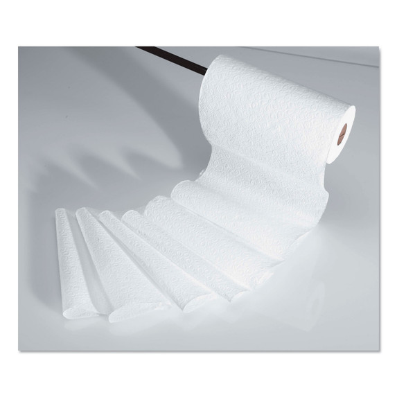 Scottex 1 Ply Paper Towel Roll, 128 sheets /roll, 20 rolls/case