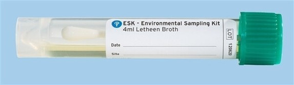 EnviroMax Plus Sampling Kit with Letheen Broth, 4 mil and 10 mil