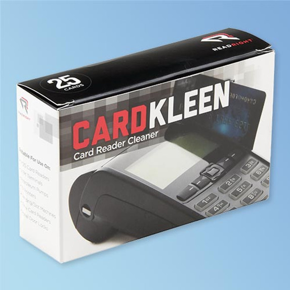 ReadRight CardKleen Card Reader Cleaner, 25/box. Read right the first time! Clean your card readers with these cleaning cards and reduce misreads and hold-ups. Shop at Harmony.