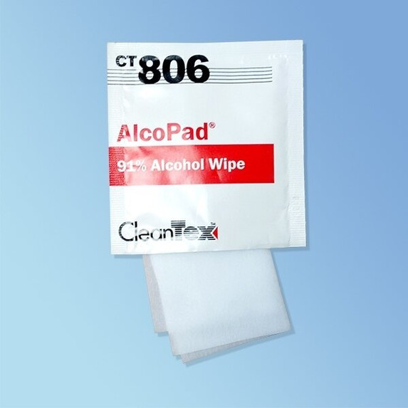 CleanTex 91% Alcohol Wipes | Harmony Lab and Safety Supplies