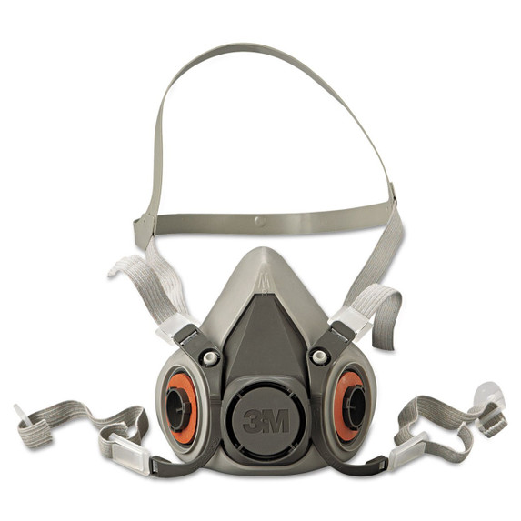 Get 3M 6200 Series, Reusable Half Face Respirator, Medium LAG-6200 at Harmony