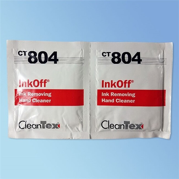 CleanTex CT804 Ink Off Wipes 72/box   Harmony Lab and Safety Supplies