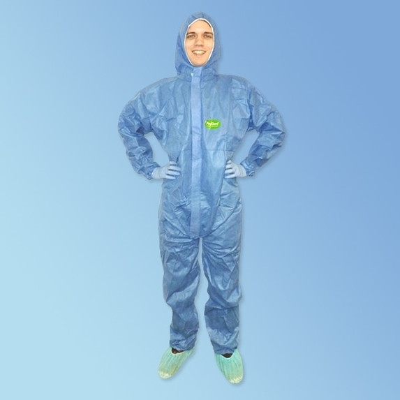 Get ProGard Blue SMS Coveralls with Hood, 25/cs T185-SMS-BE at Harmony