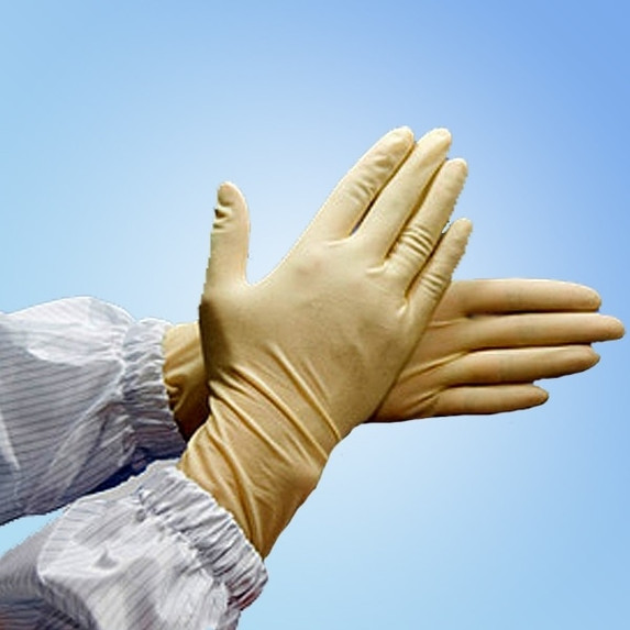 """Get V-Clean 9"""" Latex Cleanroom Gloves, 1000/cs HCRTX at Harmony"""