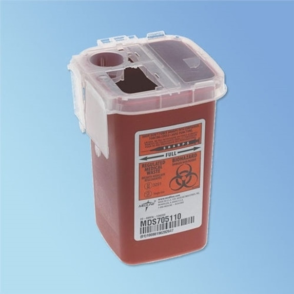 Get Phlebotomy Sharps Containers, 1 qt, 100/cs MDS705110 at Harmony