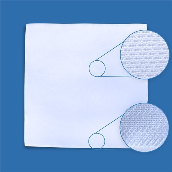 Get TekniClean Ultrasonic Border Sealed Polyester Knit Cleanroom Wipes (2 Sizes) TC3PB1 at Harmony