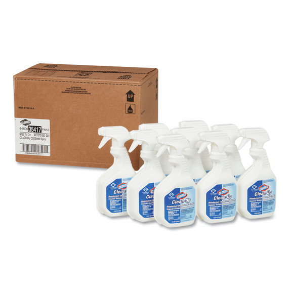 Get Clorox Clean-Up Disinfectant Cleaner with Bleach, 32 oz. 9/case L35417 at Harmony