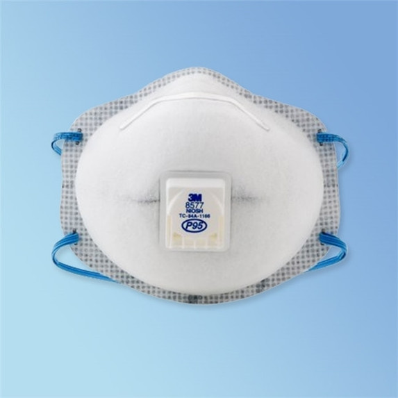 Get 3M 8577 P95 Particulate Respirator 8577, 10/box LAG-54371 at Harmony