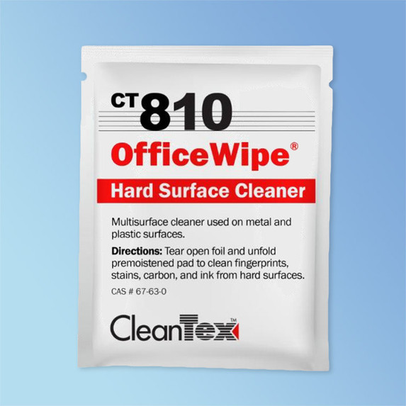 CleanTex CT810 Office Wipes, 72/box