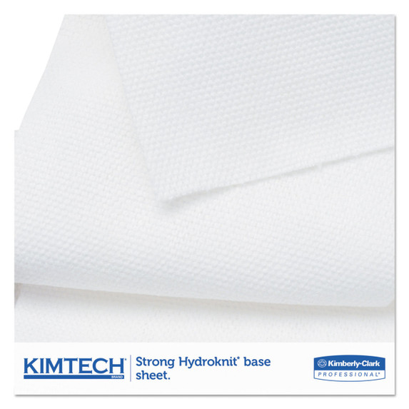 Kimtech WetTask Wipes System, 12 in. x 12.5 in., 90/roll, 6 rolls/case