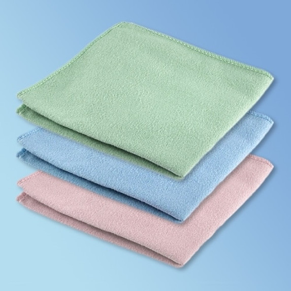 "Get Microfiber Cleaning Cloth, 16"" x 16"", 24/pk LUNS-16 at Harmony"