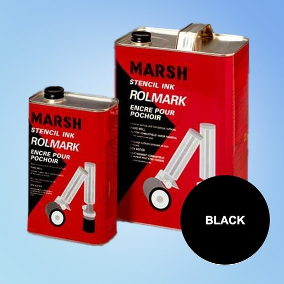 Get Marsh Rolmark Black Ink BSTRO4-Black-Ink at Harmony