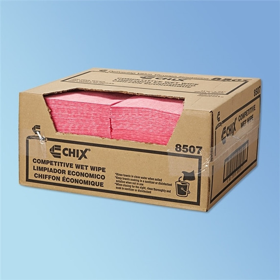"""Get Chix Competitive Rayon Wet Wipes, 11.5"""" x 24"""", 200/case L8507 at Harmony"""