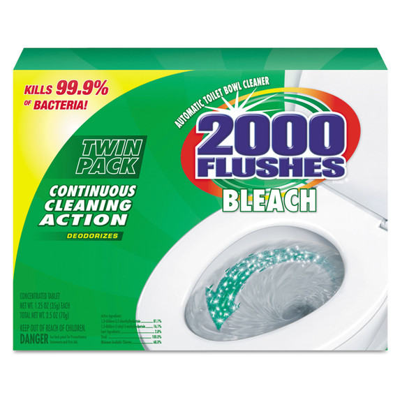 Get WD-40 2000 Flushes Blue Plus Bleach, 6 pks of 2 ea LWDC-290088 at Harmony