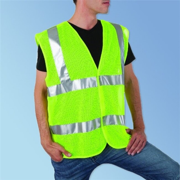 Get 5 Point Breakaway Mesh Vest, Class 2, Lime Green LBC16005G at Harmony