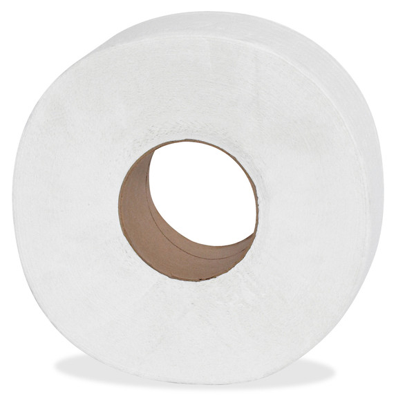 """Genuine Joe Jumbo 2 Ply Toilet Tissue, 3.25"""" x 1000 ft., 12 rolls /case 