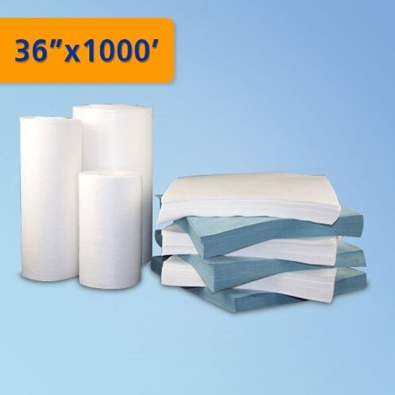 "Get Polyester/Cellulose Nonwoven Cleanroom Roll, 36""x1000', 1 roll/cs TZ1PCS1-361000 at Harmony"