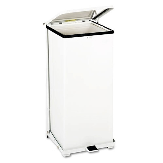 Get Steel Step Waste Receptacle, 24 Gallon, White SST24EPLWH at Harmony
