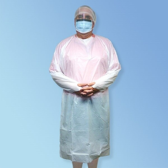 Get Keystone Polyethylene Isolation Gowns with Thumb Loop, 100/case T270TH at Harmony
