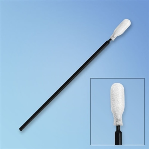 "Get Puritan Foam Swab, Paddle Tip, 6"" Polypropylene Shaft, 1000/cs P1276 BK at Harmony"