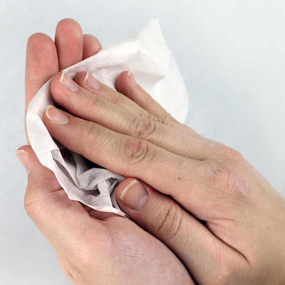 Celeste Sani-Com Pre-Moistened Multipurpose Sanitizer Cleaning Towelettes for phones, computers, headsets, and communication equipment. (XSC-3205-CT) - Harmony Lab and Safety Supplies