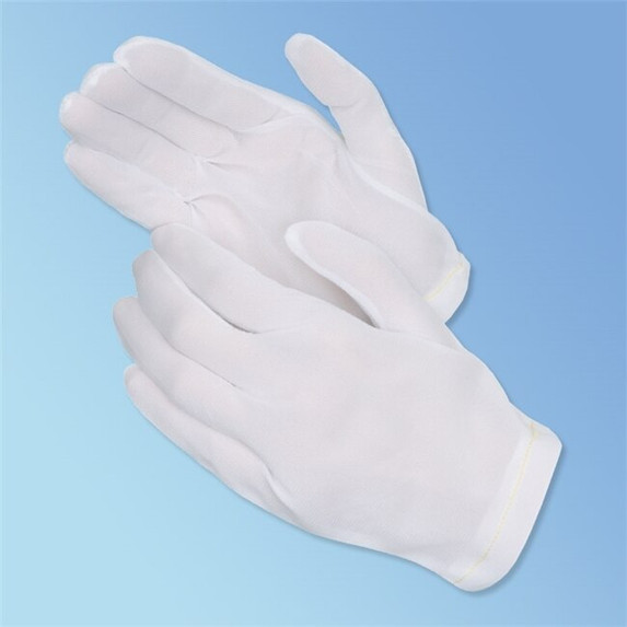 Get Tricot Nylon Inspection Gloves, 12 pairs T260M at Harmony