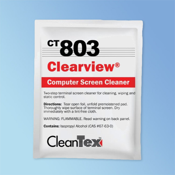 Get CleanTex CT803 ClearView Wipes 80/box CT803 at Harmony