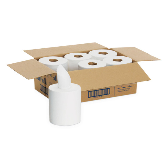 Get SofPull Center Pull Towels, White, 6/case L281-24 at Harmony