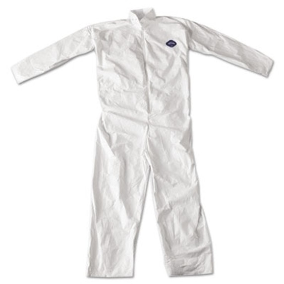 DuPont Tyvek TY120S White Coveralls with open wrist & ankle