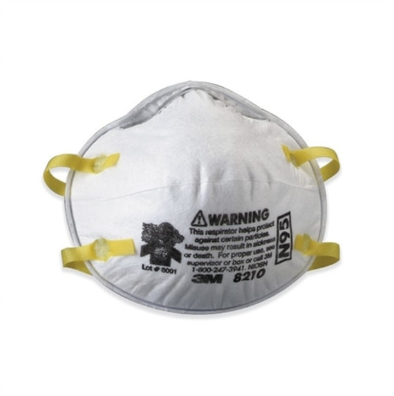 Get 3M 8210 N95 Dust Respirator, 20/box LB8210 at Harmony
