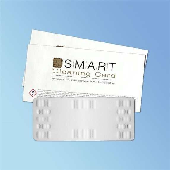 Get Waffletechnology EMV/Chip & Pin Cleaning Card, 10/pack XKW3-EMVP10 at Harmony