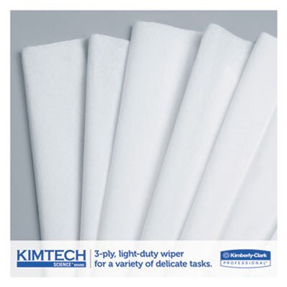 "Get Kimtech 3-Ply Science Wipes, 11.8 x 11.8"", Box L34743 at Harmony"