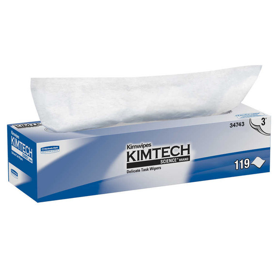 KimTech 3-Ply Delicate Task Wipes Dispenser Box