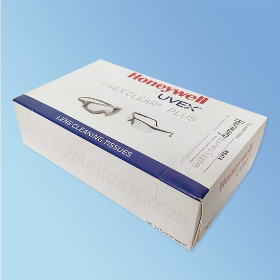Uvex Clear Plus Lens Cleaning Tisses, 500/bx RS474 at Harmony