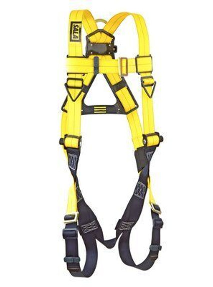 DBI-SALA Delta No-Tangle Full-Body Vest-Style Harness, Pass-Thru Leg Buckles, Universal, each