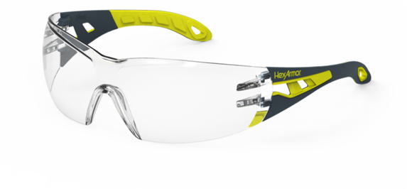 Get HexArmor MX200 Safety Glasses, Clear Lens at Harmony