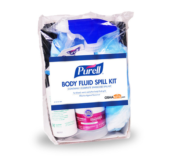 Get Purell Body Fluid Spill Kit Refill, ea (3841-16-RFL) at Harmony