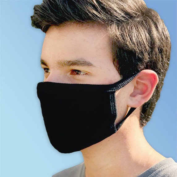 Adult Size Reusable Cotton Face Masks, Made in USA   Harmony Lab & Safety Supplies