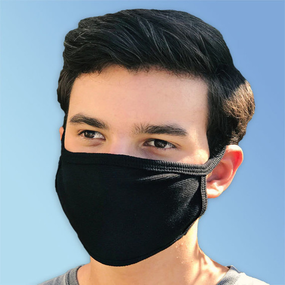 Reusable Cotton Face Masks, Made in USA   Harmony Lab & Safety Supplies