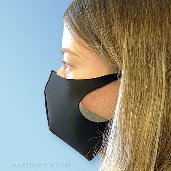 Get Reusable Polyester Face Masks with Sewn-in Filter at Harmony Lab & Safety Supplies