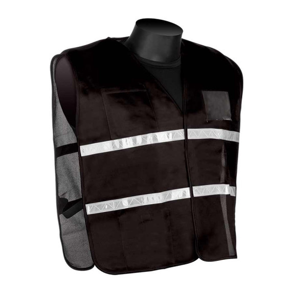 Get HiVizGard Black Incident Command Safety Vests (1620BK) at Harmony