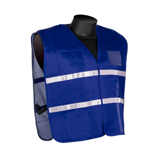 Get HiVizGard Blue Incident Command Safety Vests (1620BE) at Harmony