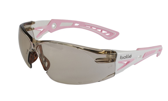 Get Rush+ Small Safety Glasses with CSP Indoor/Outdoor Anti-Fog Lens (40249) at Harmony