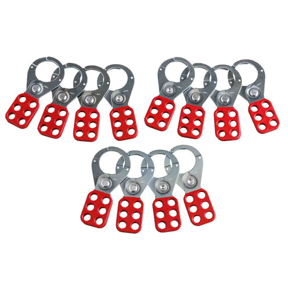 """Get Brady Steel Group Hasps with 1.5"""" Inside Jaw size, 12/pack (65376) at Harmony"""