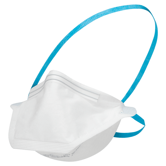 Jackson Safety 64235 NIOSH-Approved N95 Pouch-Style Disposable Respirator, 50/box. Latex-free Extra wide dual-head straps. Save at Harmony.