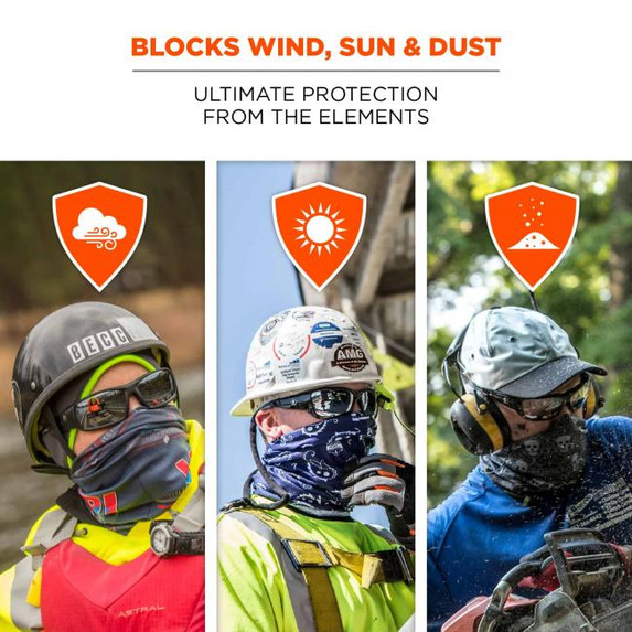 Get Chill-Its® 6485 Multi-Band Face Covering to block sun, wind, and dust at Harmony